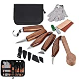 Puimentiua Upgrade Wood Carving Tool Set - Hook Carving...