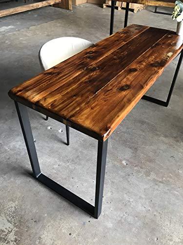 UMBUZÖ Solid Reclaimed Wood Desk (Glossy)