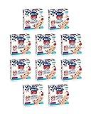 Hero Light barrette ai cereali e Frutti Rossi, 10 confezioni da 6 barrette X 20 gr, senza ...