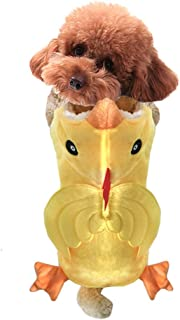 NACOCO Dog Costume Chicken Hoodies Pet Clothes Halloween Party Cat Puppy