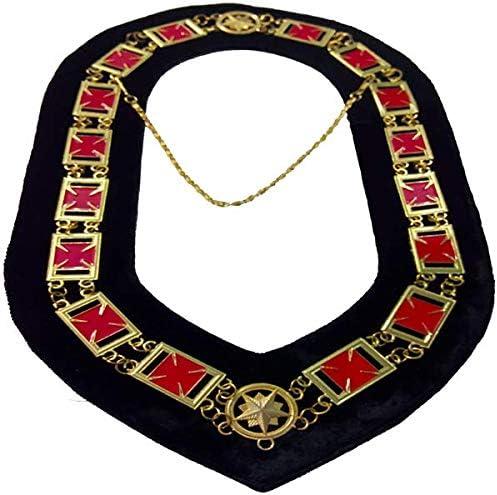 Knights Templar Form�e Max 63% OFF Patt�e Cross Co Chain Limited Special Price Masonic -