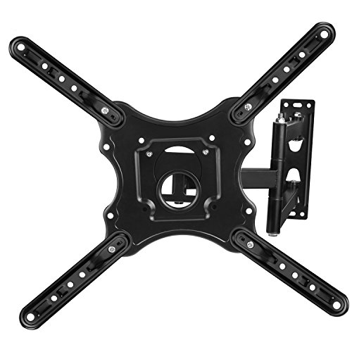 Tilting TV Wall Mount for 25-inch to 55-inch TVs Monitor Bracket SAMSUNG, SONY, LG, VIZIO, TCL, ELEMENT, SCEPTRE, HISENSE and other TV brands between 25 and 55 Inch Screen Sizes