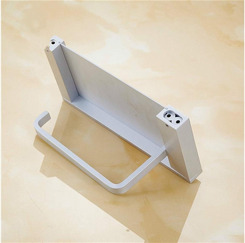 Bottle Holder Tissues Holder Space Aluminum Box Toilet Rack Mobile Phone Bracket Toilet Paper Holder Durability Decorations Wine Rack