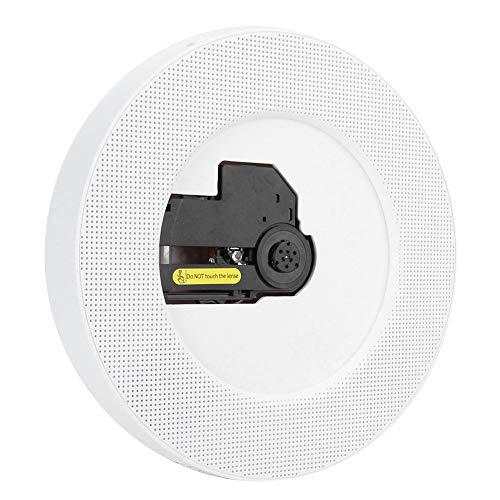 HAOX Reproductor de CD, Altavoz de Audio portátil con Control Remoto para CD para FM(Transl)