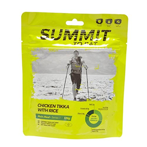 Summit To Eat, piatto pronto composto da pollo al curry con...