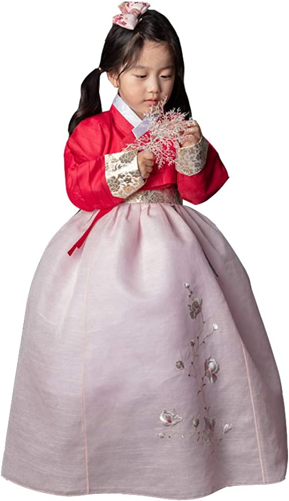 Korean Hanbok Girl Traditional Ranking TOP12 In stock Clothing Girls Dress Babys Clothe