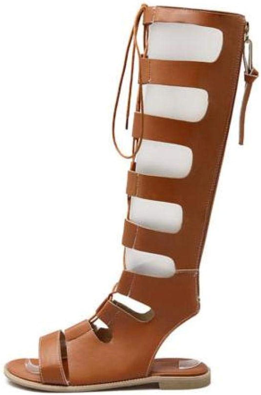FidgetFidget Women's Sandal summer Low Heel Casual Comfort Yellow 5
