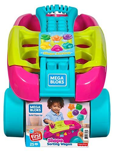 Mega Bloks Carrito Encajabloques sobre ruedas