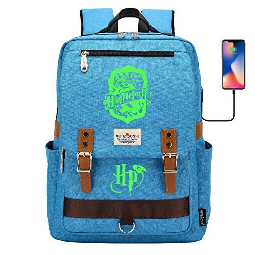 DDDWWW Kinderleuchtende Schultasche Magic School Rucksack Jungen und Mädchen Teenager Handlicher Reiserucksack (16.6\'\'11.8\'\'6.3 \'\') # 24