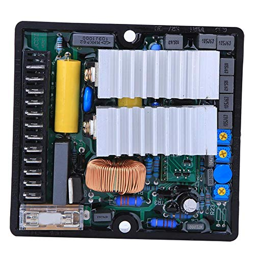 Regulador de Voltaje 50-270AC 50 / 60HZ SR7-2G Generador monofásico de dos líneas automático para generador sin escobillas