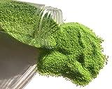 FAIRY TAIL & GLITZER FEE Sabbia Decorativa 620 g, Verde Sabbia di Colore Sabbia, granuli, ...