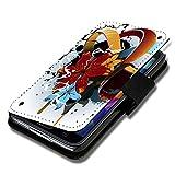 wicostar Book Style Flip Handy Tasche Hülle Schutz Hülle Schale Motiv Foto Etui für LG Bello 2 / Bello II - Flip X17 Design6