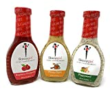 Skinnygirl Fat Free Sugar Free Salad Dressing Variety Pack (3) 8oz Bottles One Honey Dijon One Poppyseed One Raspberry Vinagrette !