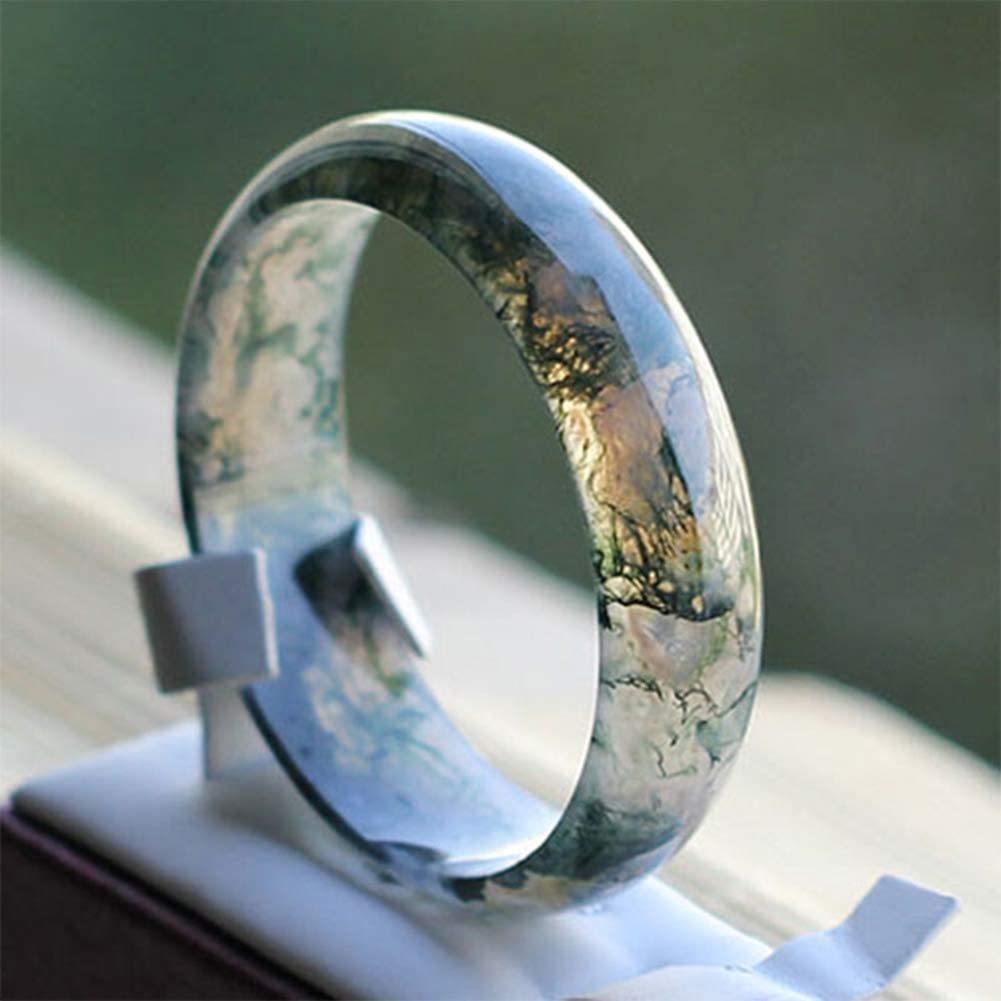 LYY Aquatic Plants 2021 new Agate Jade Bangle Bracelet Mother 62 Gift New product for