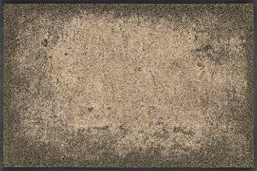 Wash + Dry Design Matte, 100& Polyamid, Braun, 50 x 75 cm