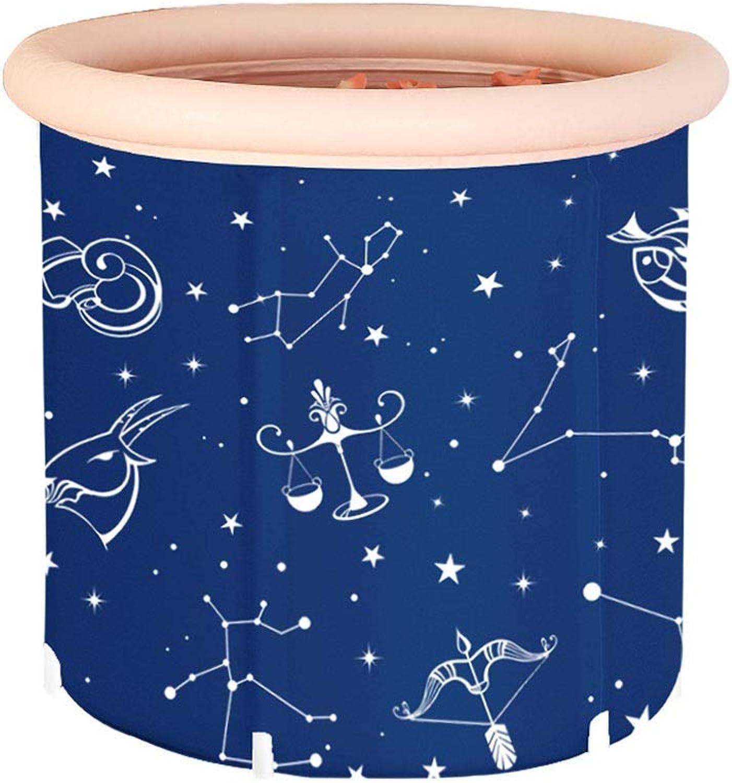 Folding Bathtub Adult Thicken Portable Household Unisex Bathing Bucket
