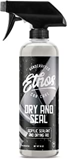 Ethos Handcrafted Car Care Dry and Seal (16oz), Ceramic Resin Paint Sealant and Drying Aid, Used Wet or Dry for Incredible Shine and Protection!