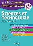 Sciences et technologie - Oral, admission - CRPE 2020-2021 (2020-2021)