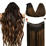 Halo Hair Extensions Human Hair Extensions,...