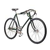 'Pashley Speed 5–Señor bicicleta en el estilo clásico Gentlemen de bicicleta, deportivo y acero–de 5marchas de, marco 22,5, Verde Deportivo–Acero–Rápido