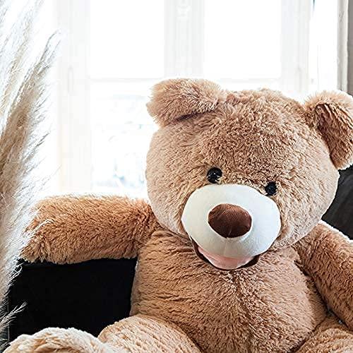 Banabear Orsacchiotto XXL Gigante 100 cm Orso de Peluche Teddy Bear Peluche Morbida, Perfetto per Compleanno, Natale, Giocattolo