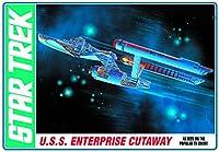 AMT 1/537 スタートレック 宇宙大作戦 USS エンタープライズ カットアウェイ(内部再現)モデル