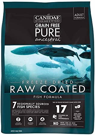Canidae Pure Ancestral Raw Coated Salmon Dog Food 20Lb product image