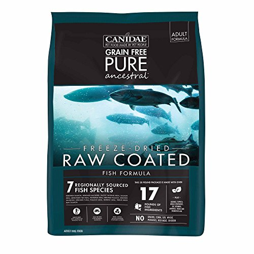 Canidae Pure Ancestral Raw Coated Salmon Dog Food 20Lb