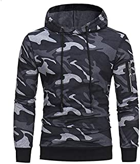Camouflage coat fitted hoodie & Sweatshirt for men M size