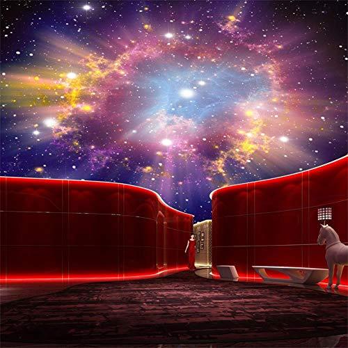 CFLEGEND Mural Y Diseño Personal Nebulosa 3D Cielo Nocturno Mural Techo Techo...