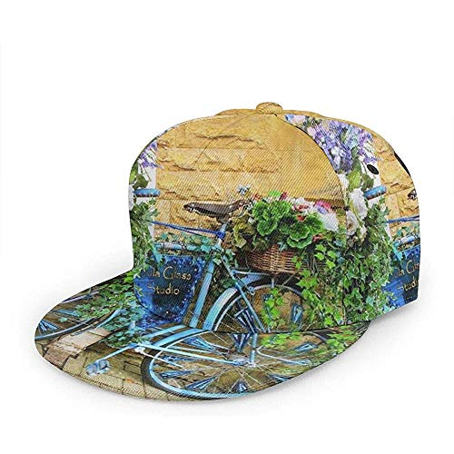 Trucker Hat Ideas Vintage Bicycle Art Trucker Hat Fashion Dad Hat Gorra De Béisbol Diseño Acogedor Personalizado Pesca Duradera Adultos Hiphop Unisex Deportes Especiales