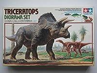 1994年発売タミヤ 1/35 恐竜世界シリーズ4トリケラトプス情景セット未使用未組立
