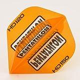 5 x Sets of Pentathlon Orange Super Tough HD150 Dart Flights, Standard -