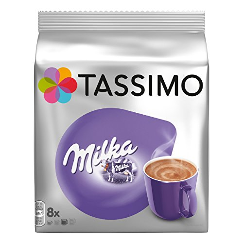 Tassimo Kapseln Milka, 8 Kakao Kapseln, 240g