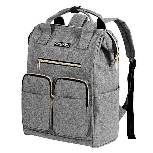 Rucksack Damen Herren Studenten Daypack Einfacher und Leichter Tagesrucksack für 13-Zoll...