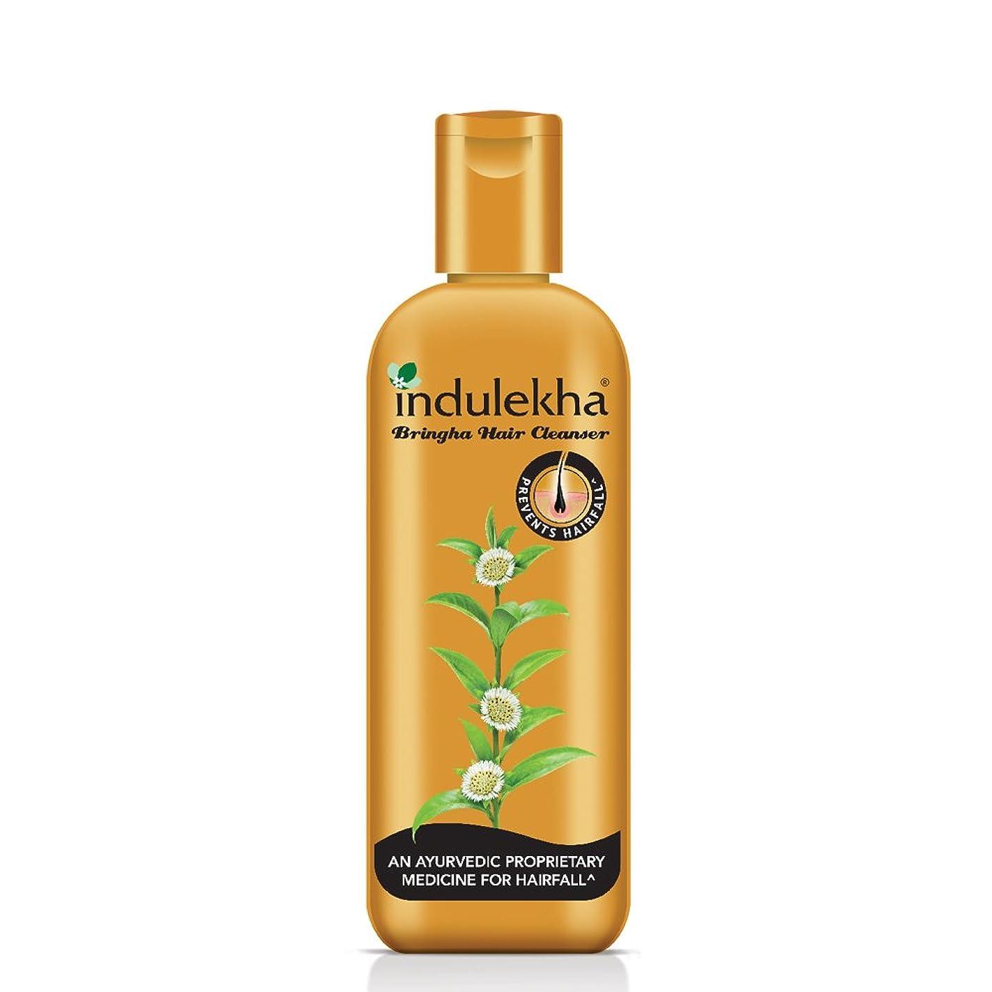 学校教育プーノシンポジウムIndulekha Bringha Anti Hair Fall Shampoo (Hair Cleanser) 200ml, 6.76 oz - 並行輸入品 - イニディカ?ブリンガアンチヘアフォールシャンプー(ヘアクレンザー)200ml、6.76oz