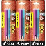 Pilot Refills for Frixion Erasable Gel Ink Pens, Fashion Assorted, Pack of 9 (77336) erasable pens Oct, 2020