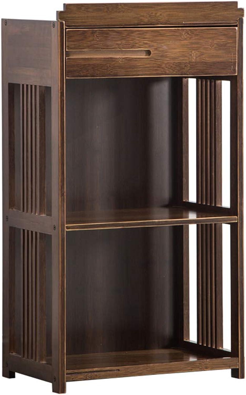 mas barato QARYYQ Estantería De Bambú Bambú Bambú De Los Estantes De La Sala De EEstrella del Estante De Libro De La Vendimia Estanterías De Los Libros del Libro Soporte de Libro (Talla   52cm)  elige tu favorito