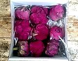Flores Frescas Online Peonias Preservadas Medianas Bordeaux 9 Unidades Portes Gratis