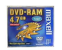 マクセル くり返し記録用 DVD-RAM 4.7GB 1枚 Maxell DRM47 1P