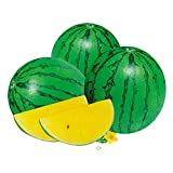 5g/Pack Yellow Heart Watermelon Seeds for Yard Gardening Plant Delicious Watermelon, Vegetable Seeds Survival Garden, Emergency, Survival Kit Non-GMO, Organic, Heir-Loom, Plant Fruit Seed