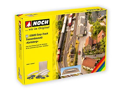 NOCH 0053600 H0 Gleiswendel Aufbaukreis (L x B x H) 1820 x 1135 x 110 mm