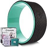 Ruota per lo yoga ruota di supporto per lo yoga comoda e resistente perfetta per le posizioni yoga che...