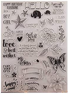 GIMISTUI Store Clear Stamps DIY Card Making (Blessing)