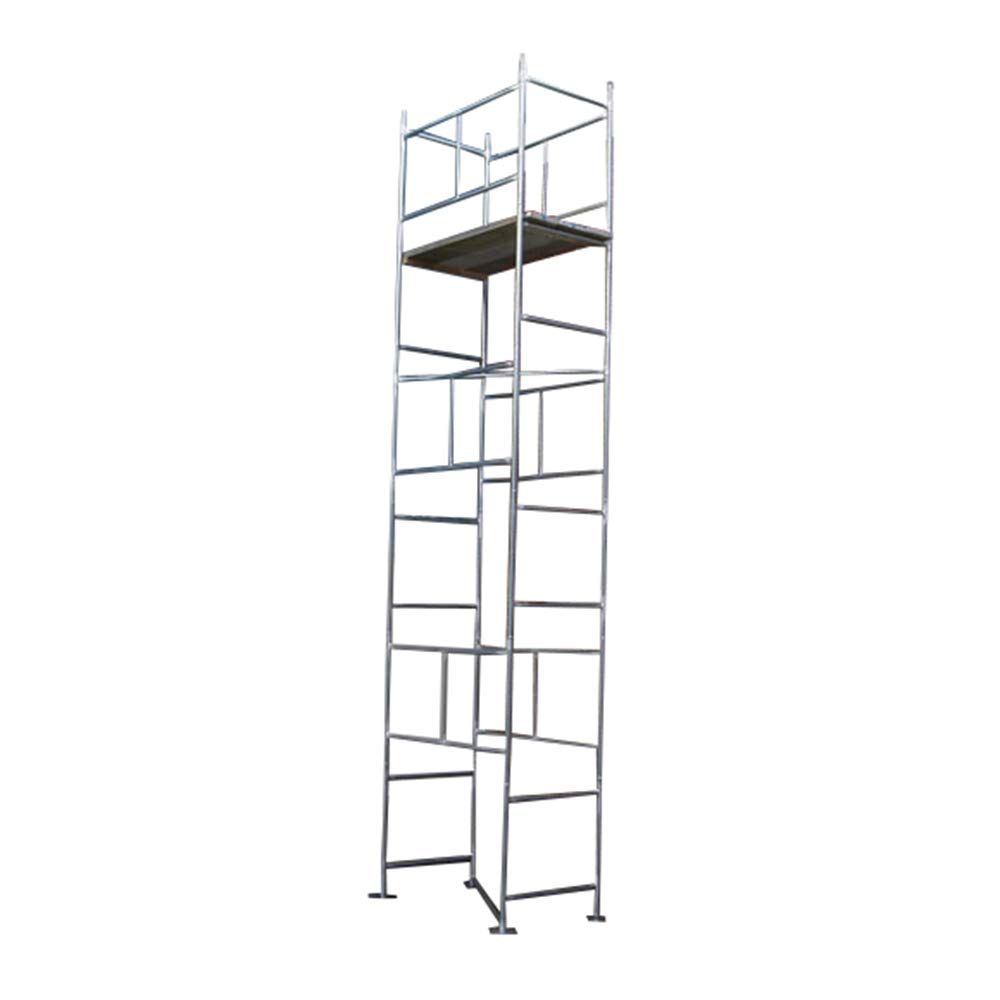 Andamio de 6,02 m, galvanizado, con tablas (base 6,88 m x 121,92 cm x 76 cm): Amazon.es: Bricolaje y herramientas