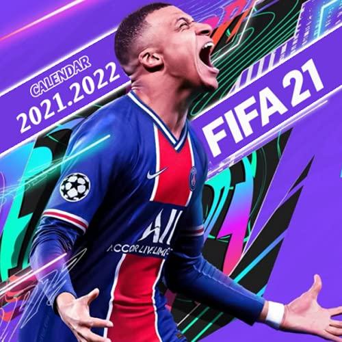 FIFA 21: 2021 – 2022 Games Calendar – 18 months – 8.5x8.5 High Quality Images