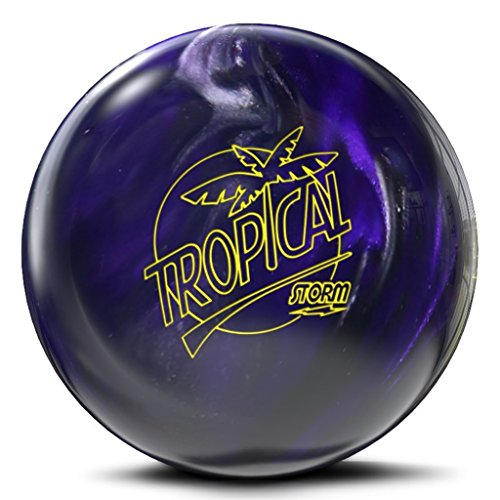 Storm Bowling Tropical Ball, Violet/Charcoal, Size 12