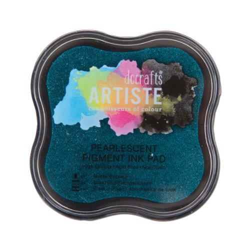 Artiste Pigment Stempelkissen, Perlglanz-Aqua