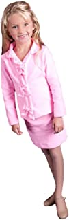 Girls' Bow Interview Pageant Suits Knee Length Kids Outfits