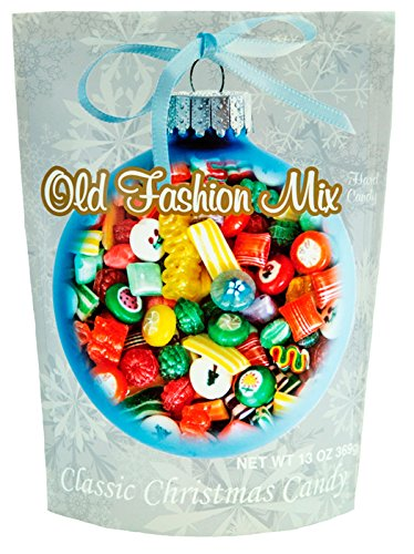 Primrose Old Fashion Mix Hard Candy - Classic Christmas Candy in 13 oz Holiday Retail Package - Ideal Gourmet Food Gift - Old Fashion Candy